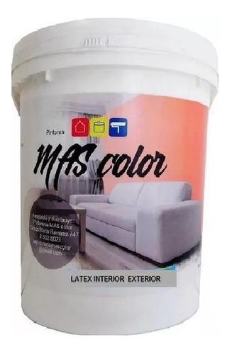 Imagen 1 de 1 de Pintura Latex Exterior Interior Antihongos Blanco 20 Lts