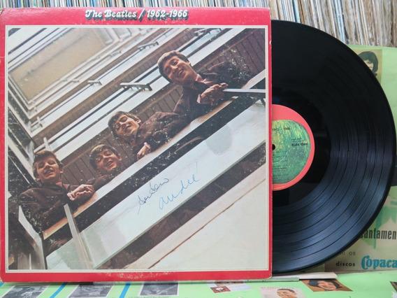 The Beatles 1962 / 1966 Lp Apple Duplo Encartes Importado