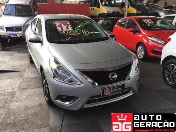 Nissan Versa 1.6 16v Unique Cvt (flex) Flex Automático