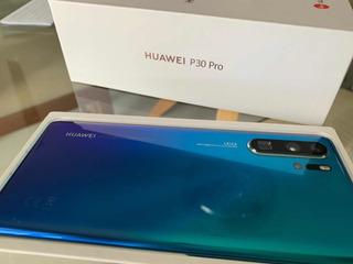 Celular Huawei P30pro Aurora - Garantia De Fabrica Maio/2021