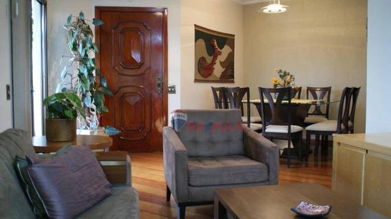 Apartamento À Venda, 126 M² Por R$ 730.000,00 - Rua Praça Santa Thereza, 46 Ap 51 - Tatuapé - São Paulo/sp - Ap1119