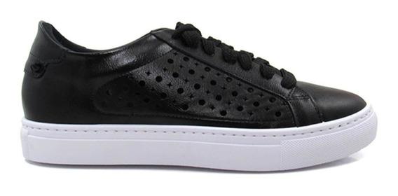 Tênis Casual Feminino Olfer Shoes 1272-062 Com Cadarço