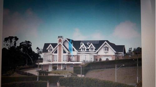 Casa Com 5 Dormitórios À Venda, 655 M² Por R$ 6.800.000 - Alto Do Capivari - Campos Do Jordão/sp - Ca0533