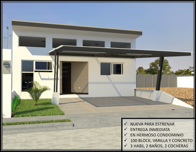 Casa Nueva En Venta. Cartago (en Condominio)