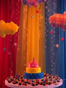 Cortina Para Decoração De Festas - 2.30x.6.00