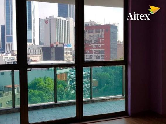 Departamento En Renta, Vista Panorámica A La Cdmx, Cerca De Reforma