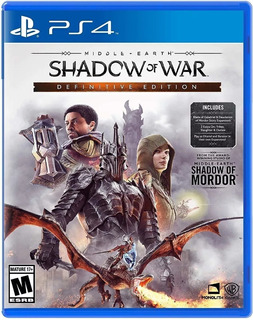 Middle-earth: Shadow Of War Definitive Edition - Playstation