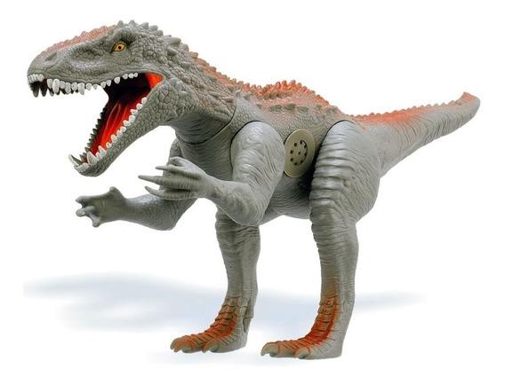 Dinossauro Furious Rex 60 Cm Emite Som Adjomar Brinquedos