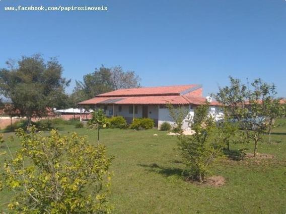 Chácara Para Venda Em Tatuí, Mirandas, 2 Dormitórios, 2 Banheiros, 10 Vagas - 323