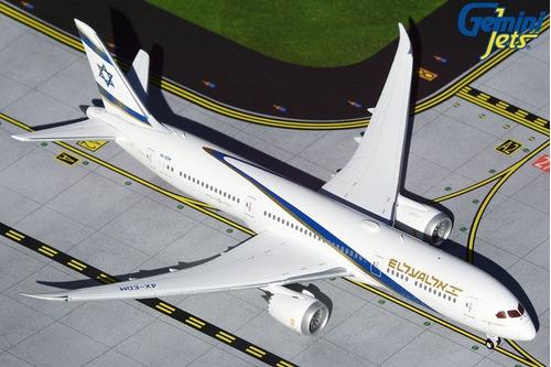 Miniatura Gemini Jets 1:400 El Al Boeing 787-9 Dreamliner