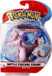 Pokémon Figura De Batalla De 4.5 Pulgadas Mewtwo