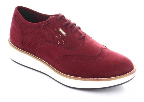 Tenis Para Mujer Pepe Jeans 51205-045131 Color Rojo