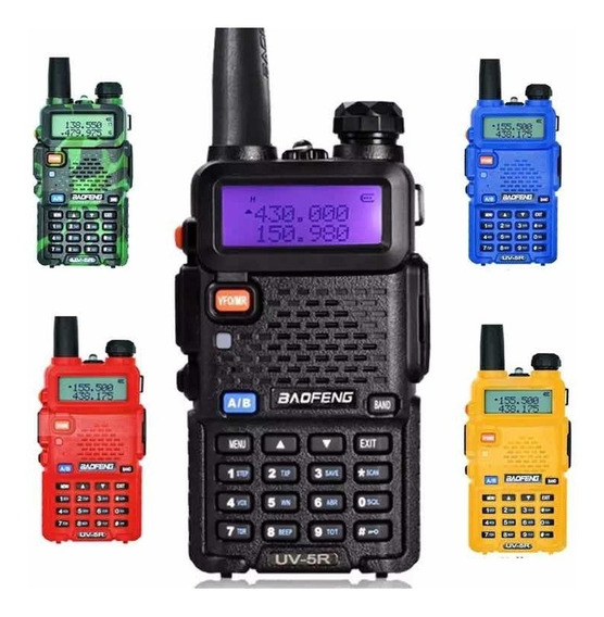Radio Portatil Trasmisor Baofeng Uhf - Vhf