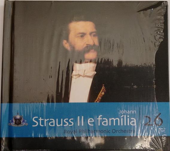 Cd Folha Música Clássica-vol. 26 Johann Strauss Ii E Família