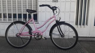 Bicicleta Playera De Dama Marca: Susi. Rodado: 24. Excelente