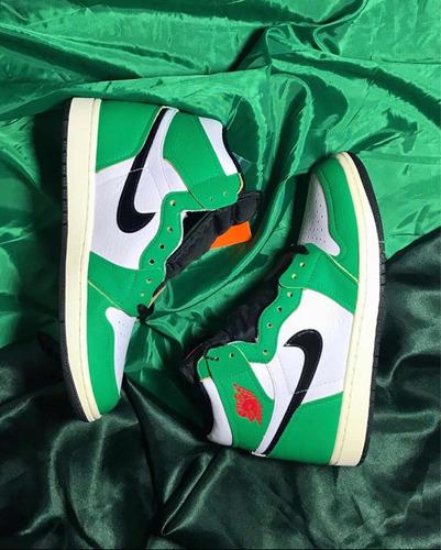 Jordan 1 Luck Green
