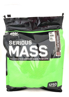 Proteina On Serious Mass 12 Libras - 5.44 Kg Envío Gratis Proteina Alta En Carbohidratos