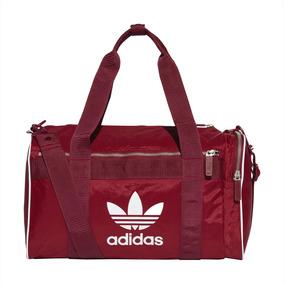 Bolsa adidas Originals Duffle Adicolor Média Vinho - Único -
