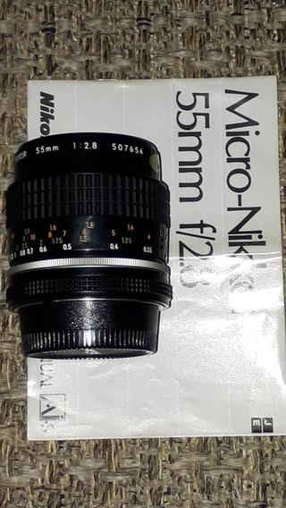Nikon 55mm F/2.8 Micro Ai-s