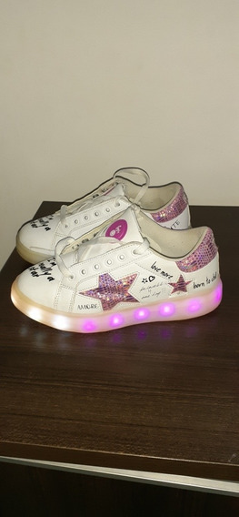 Zapatillas Footy Con Luz Led