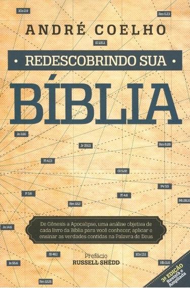 Livro André Coelho - Redescobrindo Sua Bíblia