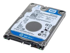 Hd Wd 500gb 5400rpm Notebook Wd5000 Slim 7mm