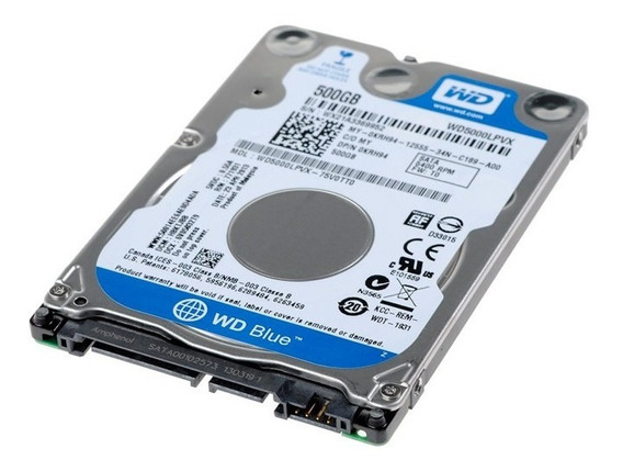 Hd Wd 500gb 5400rpm Notebook Wd5000 Slim 7mm