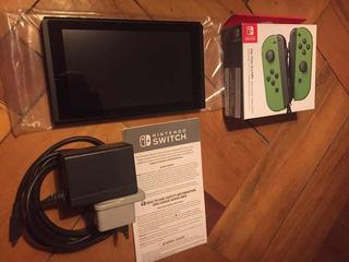 Consola Nintendo Switch Neon V2 2019