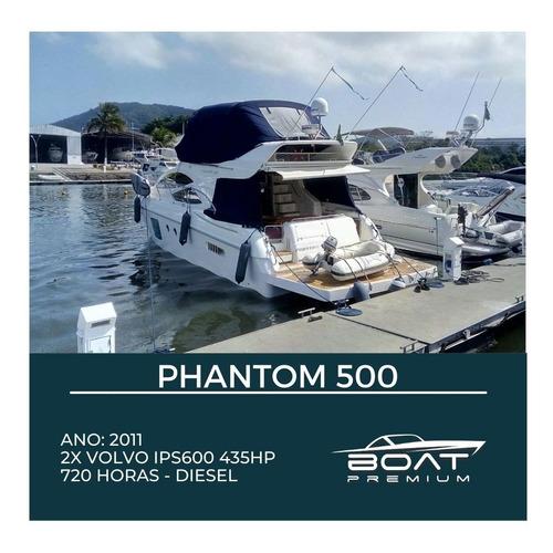 Phantom 500, 2011, 2x Volvo Ips600 435hp - Intermarine -