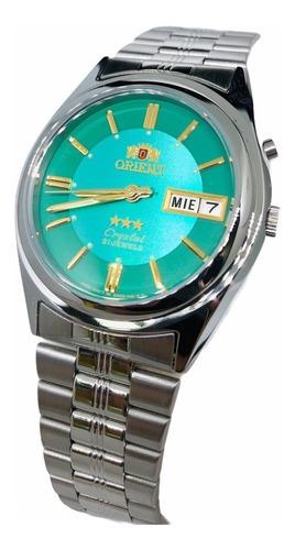 Reloj Orient Automático Plateado 3 Estrellas 100% Original