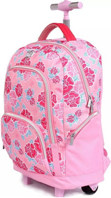 Mochila Capricho Liberty Pink 11339 Mochilete Escolar
