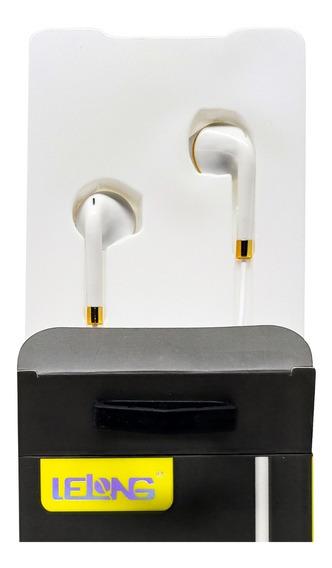 Fone De Ouvido Original Lelong Microfone Headphone Stereo