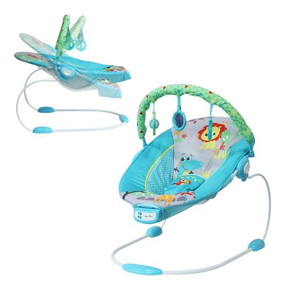 Silla Mecedora Bebé Reclinable 3 Posiciones Música Vibración