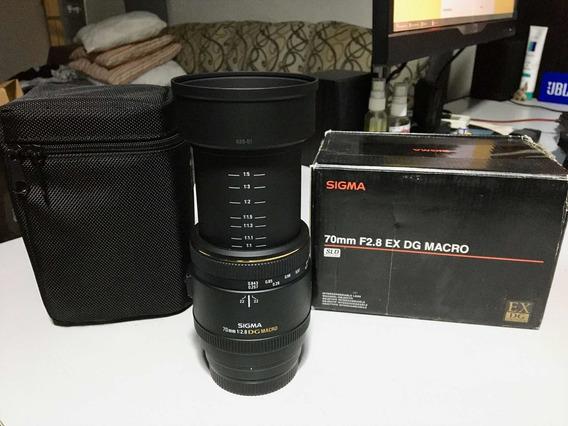 Sigma 70mm F/2.8 Ex Dg Macro Sony A-mount