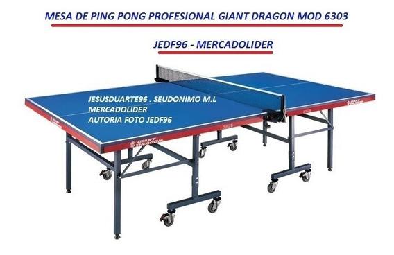 Mesa De Ping Pong Giant Dragon Profesional Tamanaco Stiga