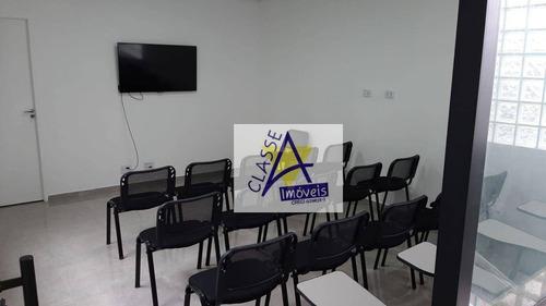Imagem 1 de 6 de Sala Para Alugar, 25 M² Por R$ 1.600,00/mês - Jardim Pilar - Mauá/sp - Sa0033