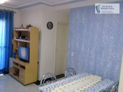 Imagem 1 de 22 de Apartamento Com 2 Dormitórios, 50 M² - Venda Por R$ 275.000,00 Ou Aluguel Por R$ 1.600,00/mês - Jardim Vila Formosa - São Paulo/sp - Ap1718