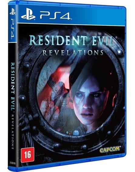 Jogo Resident Evil Revelations Ps4 Midia Fisica Cd Original