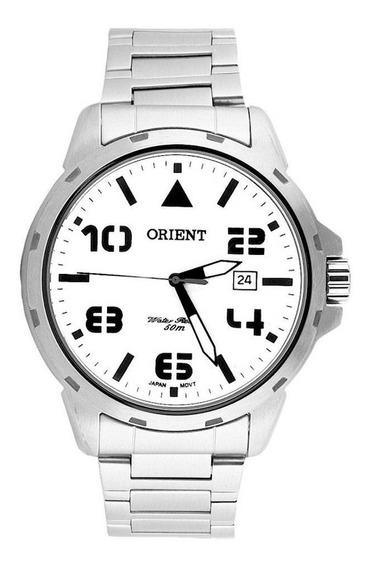 Relogio Masculino Orient Mbss1195a S2sx Prata Esportivo