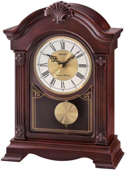 Reloj De Mesa Seiko Con Melodía Qxq023b | Agente Oficial