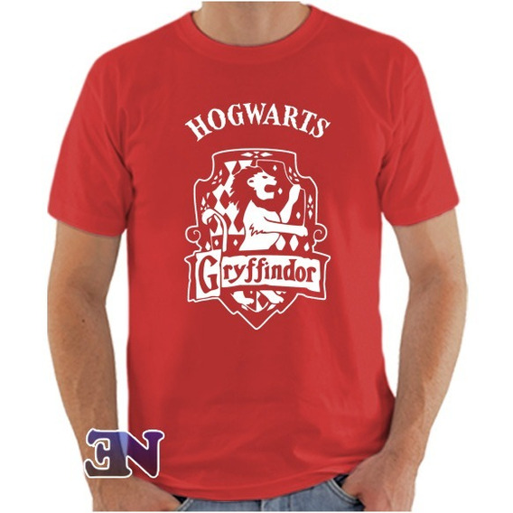 Camiseta Gryffindor Grifinória Hogwarts Harry Potter
