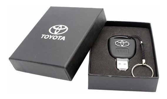 Pen Drive Toyota Chave 16gb- Chaveiro + Caixa De Presente