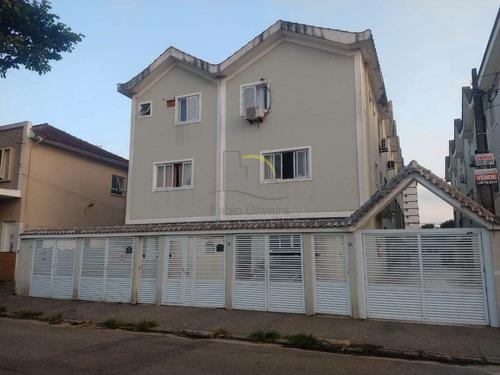 Imagem 1 de 30 de Sobrado De Condomínio Com 2 Dorms, Macuco, Santos - R$ 500 Mil, Cod: 3263 - V3263