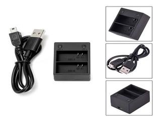 AHDBT-201//301//302 con Cable AC Pared Cargador de Baterías para GoPro Hero 3//3