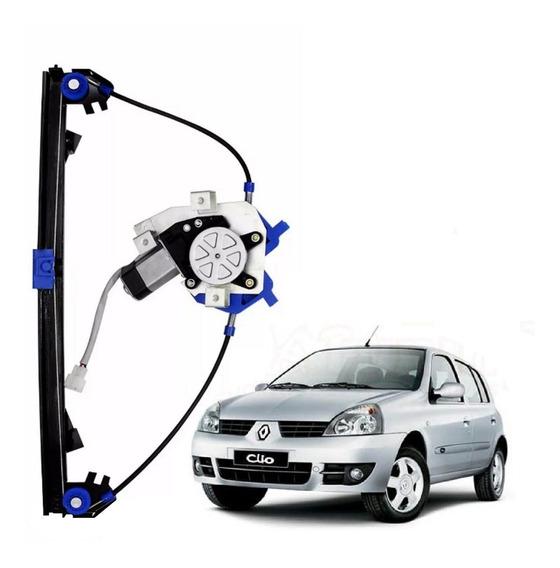 Maquina Vidro Eletrico Clio 4 Pts Dianteira Direita E Motor