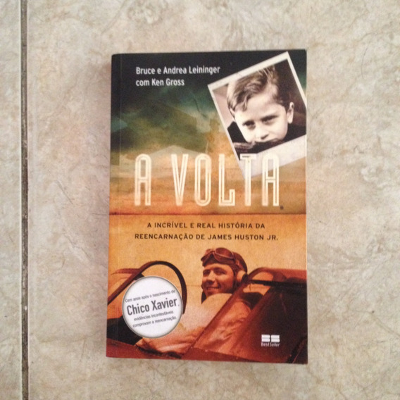 Livro A Volta - Bruce E Andrea Leininger Com Ken Gross C2