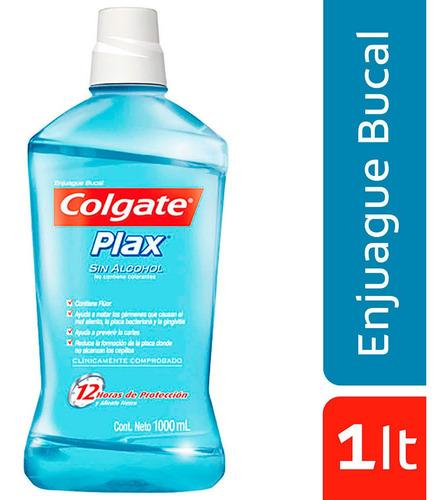 Enjuague Colgate Plax Soft Mint Frasco X - mL a $24