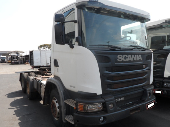 Scania G 440 6x4 Bug Pesado Cab Simples 2014/2014 Opticruise