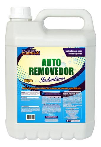 Imagem 1 de 8 de Produto De Limpeza Detergente Fluor Alcalino Para Limpar Piso Externo Cerâmica Antiderrapante Encardido 5 Litros