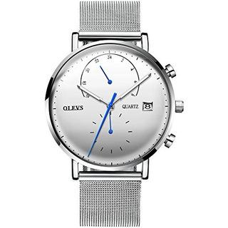 Ypf Olevs - Reloj De Pulsera Con Cronografo De Cuarzo Para H
